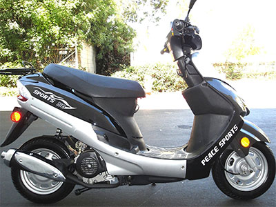 Best 50cc Scooters Chinies Scooter ATM-50