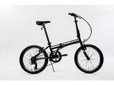 Best Folding Bikes EuroMini ZiZZO Campo 28lb Lightweight Aluminum Frame Shimano 7-Speed Folding Bike