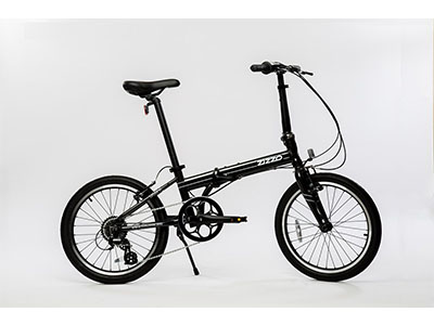 "Best Folding Bikes EuroMini ZiZZO Urbano 24lb Lightest Aluminum Frame Genuine Shimano 8-speed 20"" folding bike"