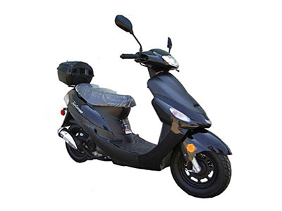 Best 50cc Scooters Tao Sporty Black Scooter