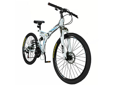 "Best Folding Bikes Xspec 26"" 21-Speed Folding Mountain Trail Bicycle Commuter Foldable Bike"