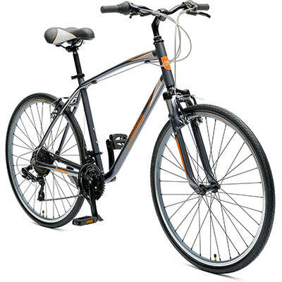 Best Hybrid Bikes Critical Cycles Men's Barron Hybrid 21 Speed