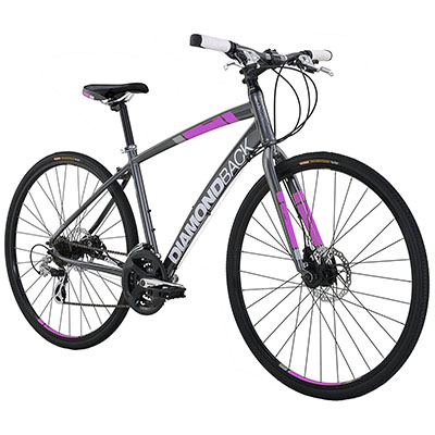 Best Hybrid Bikes Diamondback Women's Clarity 2 Complete Performance Hybrid Bike