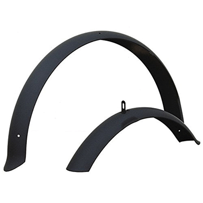 Firmstrong-Beach-Cruiser-Bicycle-Best-Bike-Fenders-Set,-Front-and-Rear